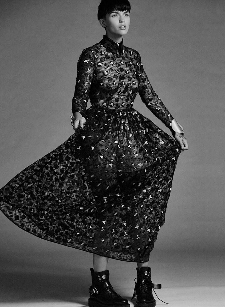 Руби Роуз — Фотосессия для «The Untitled» 2015 – 1