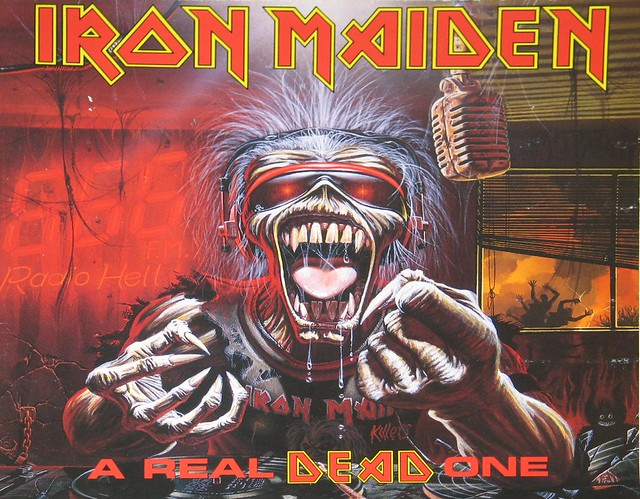 "IRON MAIDEN A Real Dead One Bruce Dickinson 12"" Vinyl LP"
