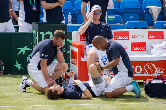 Leon Smith, Andy and Jamie Murray