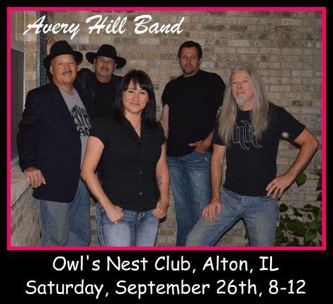 Avery Hill Band 9-26-15