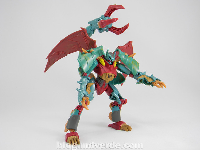 Transformers Ripclaw Deluxe - Transformers Prime Beast Hunters - modo robot
