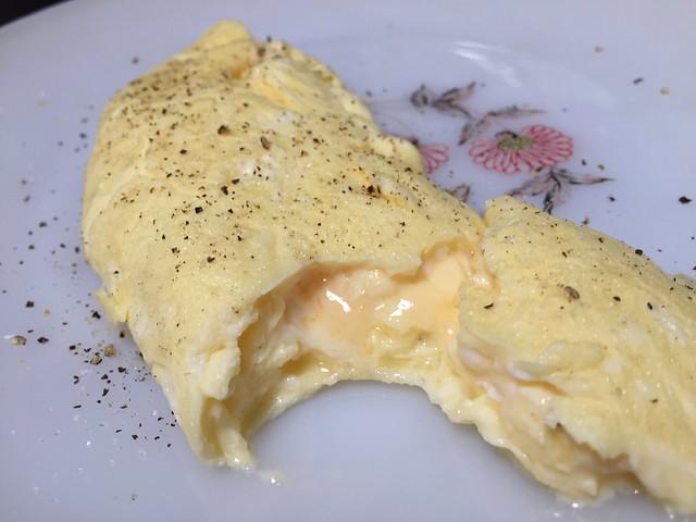 Inside the omelette