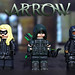 LEGO CW : Green Arrow, Black Canary, & Diggle by MGF Customs/Reviews