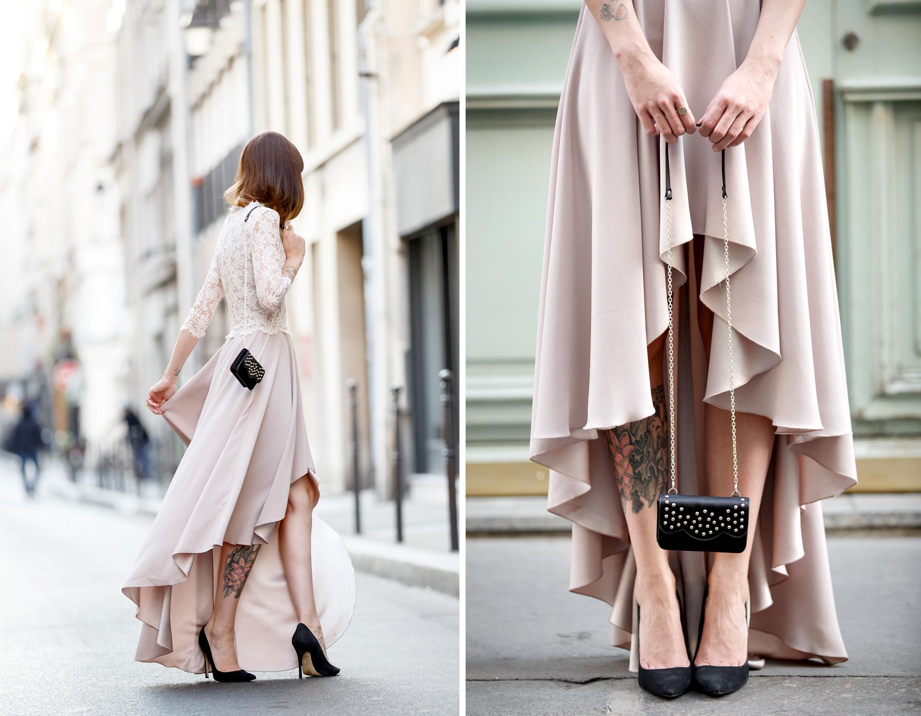 ewa herzog lace dress pastel rose paris le marais pfw fashion week ss16 ricarda schernus cats & dogs blog 6
