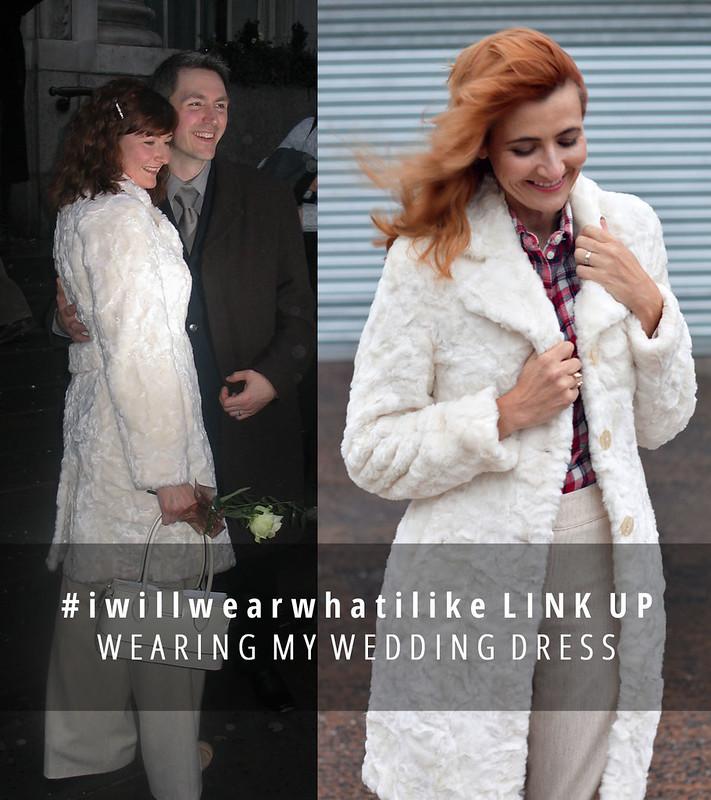 #iwillwearwhatilike   The Wearing My Wedding Dress challenge