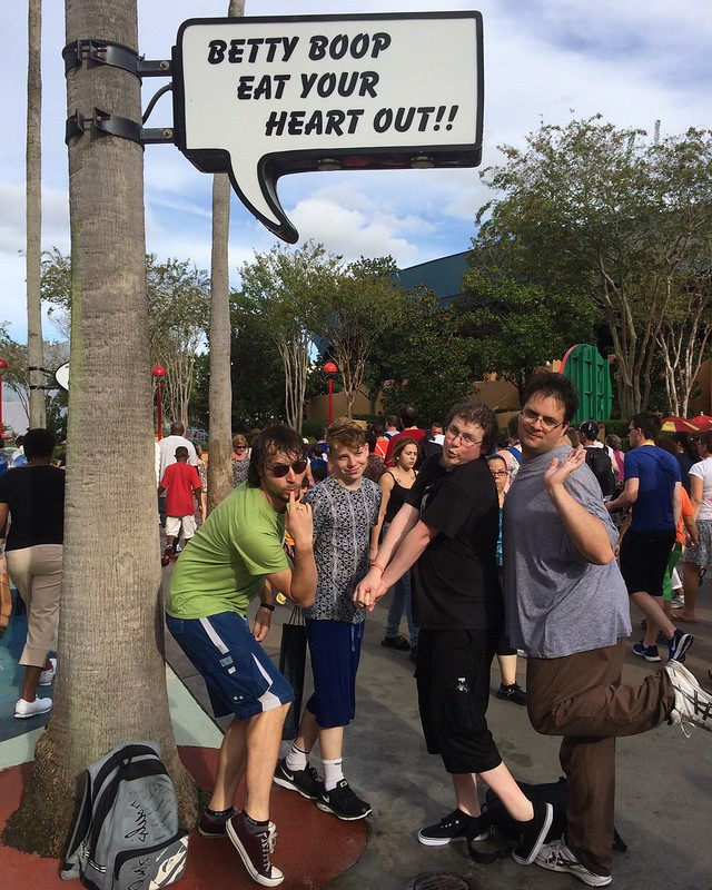 Universal Studios - Toon Lagoon
