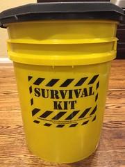 Honey Bucket Survival Kit | 1825steps