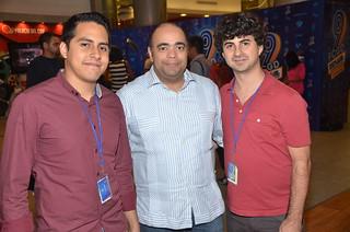 Nicolas Espejo, Omar de la Cruz y Alvaro Congosto