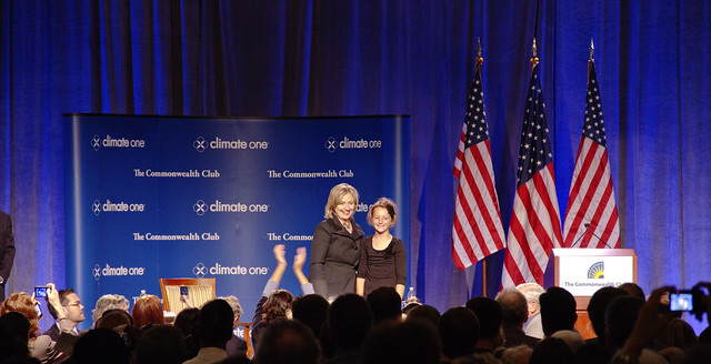 Hillary Clinton at Climate One  (2010)