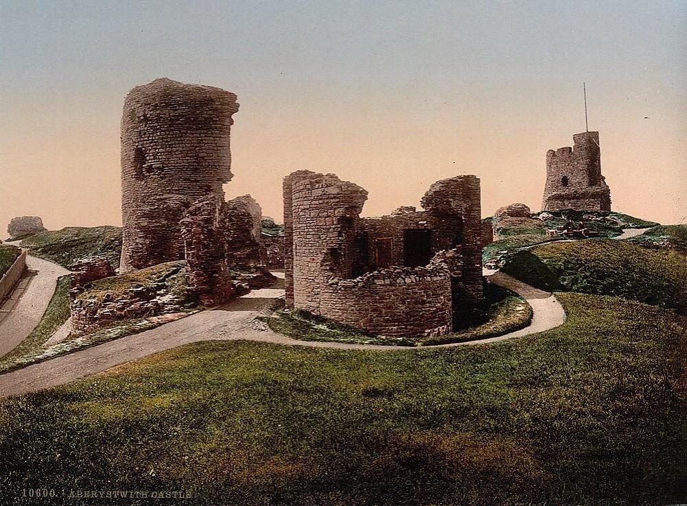 Aberystwyth Castle, Wales