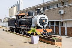 CGR / SAR Class 7 No.345 at Klerksdorp Station