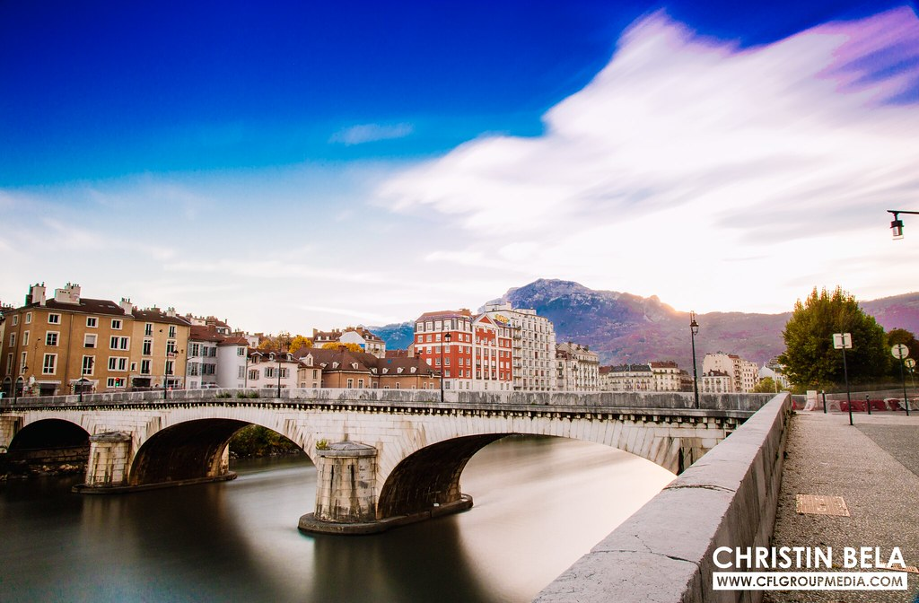 Grenoble, French alps