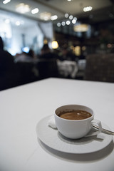 Coffee, Alexander's Steakhouse, San Francisco