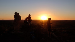 Broken Hill Sunset Silhouettes II