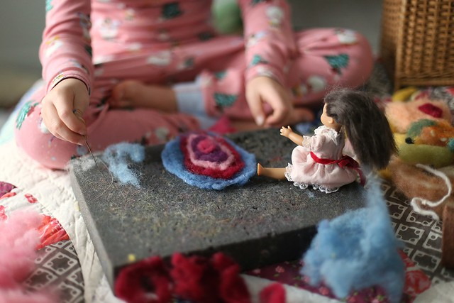 C Christmas crafting