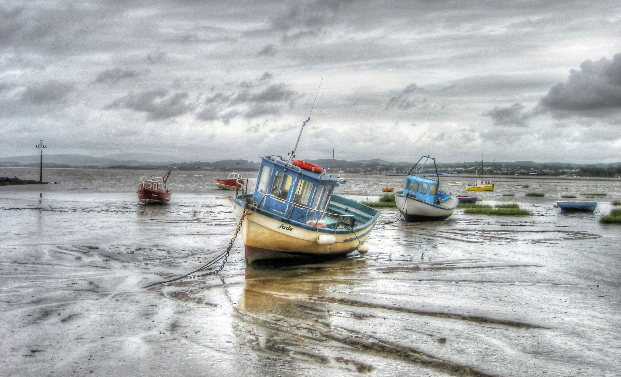 Grey day at Morecambe, Lancashire (Explored)