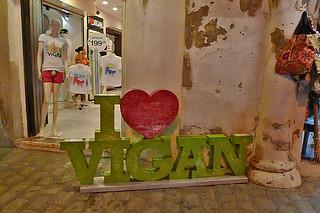Vigan - I Love Vigan sign