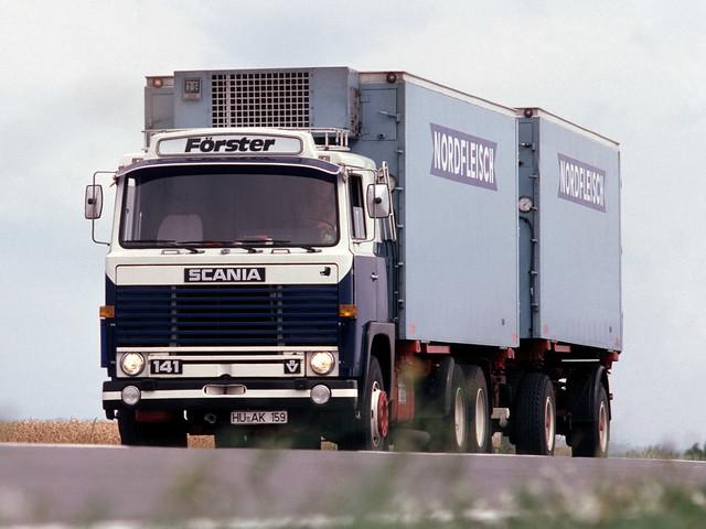 Грузовик Scania LBS140. 1968 – 1972 годы