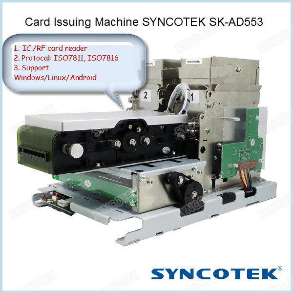Card Issuing Machine SYNCOTEK SK-AD553
