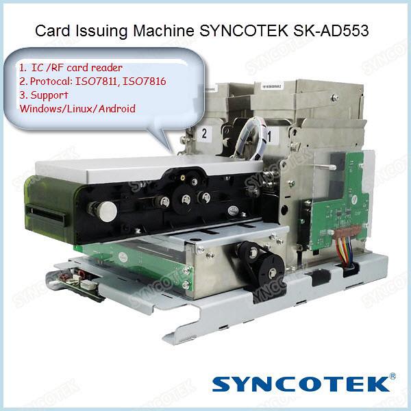 Card Issuing Machine SYNCOTEK SK-AD553