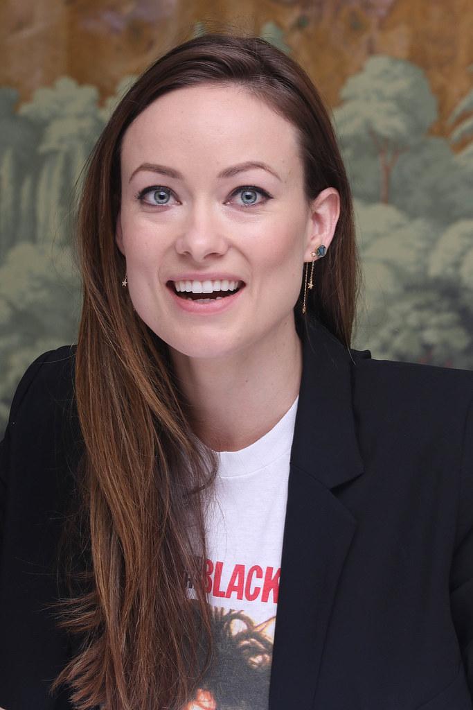 Оливия Уайлд — Пресс-конференция «Винил» 2015 – 27