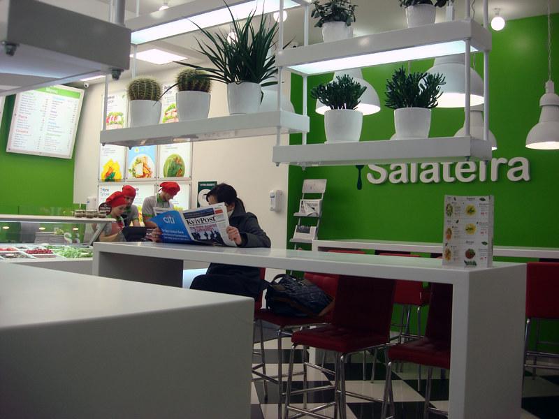 healthy food salads