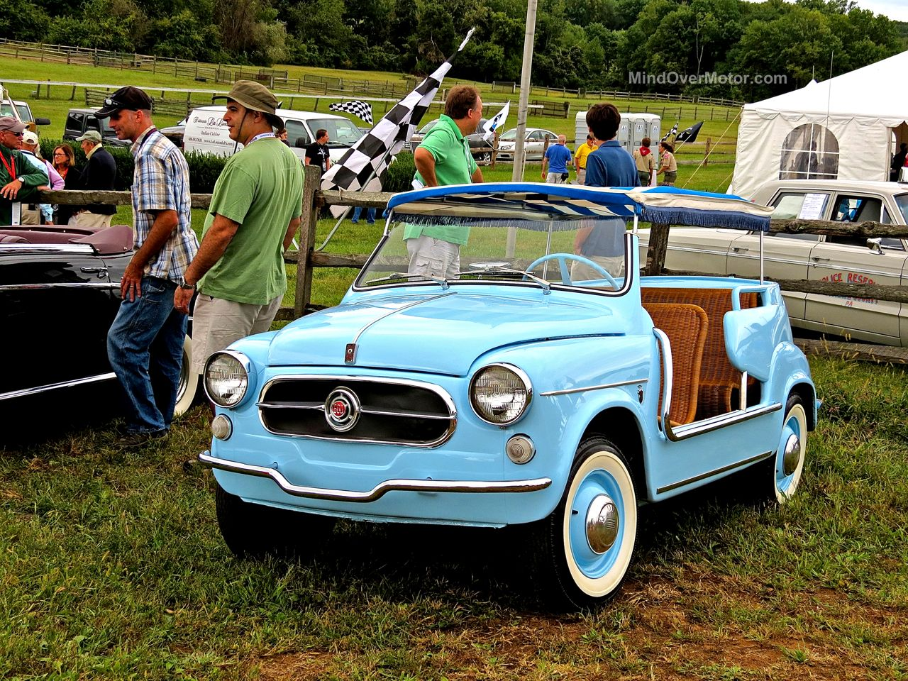 Blue Fiat Jolley Radnor Hunt 1