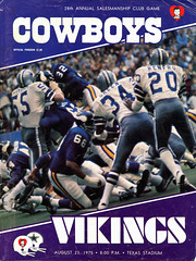 1975 Minnesota Vikings @ Dallas Cowboys