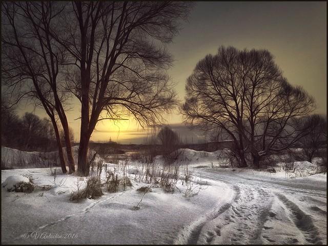 Winter  in Obninsk.