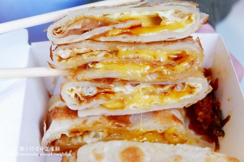 宏廚pancake【台北好吃蛋餅】宏廚手擀皮,酥脆好吃的手工蛋餅,近台北通化夜市附近