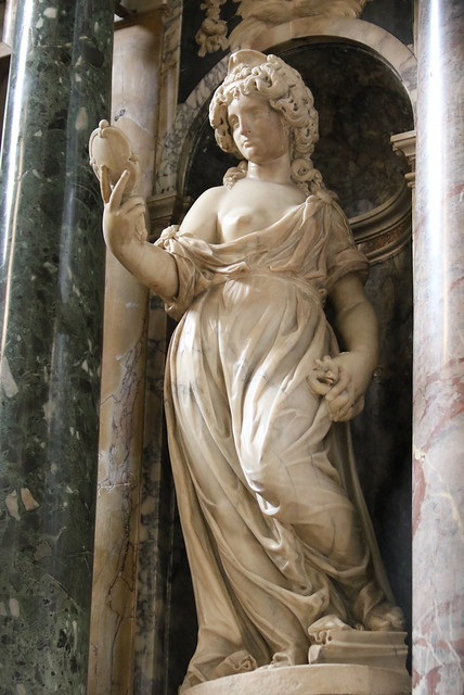 [ P ] Giacomo della Porta - Prudence (c.1600s) Sculpture from the Cappella Aldobrandini, of Santa Maria sopra Minerva, Rome