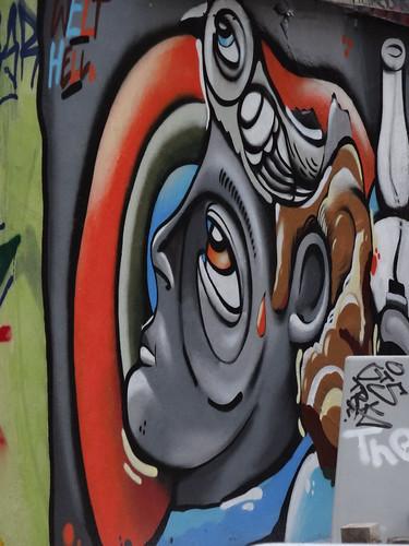 Dresden befolgte kritische Richtung in der Graffiti 00062