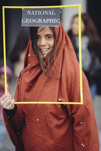 Afghan Girl, Zurich Fasnacht edition