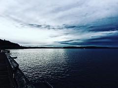 #vsco #vscocam #sunset #sunrise #polymerclay #monochrome #monotone #color #blackandwhite  #architecture #building #project #photolife #gradient #raincity #crossroad #halt #rain #seattle #ocean #tacoma #old