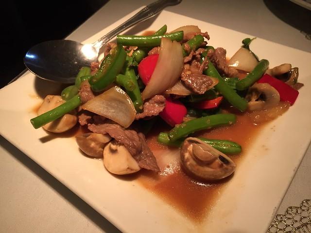 Chili beef - Angkor Borei