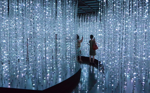 ■teamlab Exhibition■銀座・ポーラミュージアムアネックス
