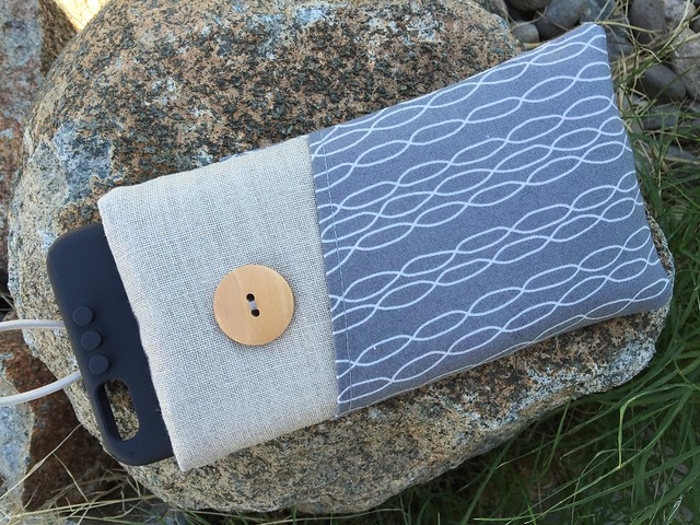 Fabric iPhone 6 Plus Padded Sleeve