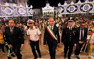 Casamassima- Il vicesindaco Palmieri, il comandante della PM Eramo e il sindaco Cessa