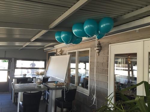 Heliumballonnen Strandpaviljoen Zomertijd