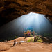 Royal pavilion in the Phraya Nakhon Cave,Khao Sam Roi Yot National Park, Prachuap Khiri Khan, Thailand by fototrips74