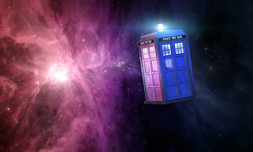Doctor Who Tardis In Space