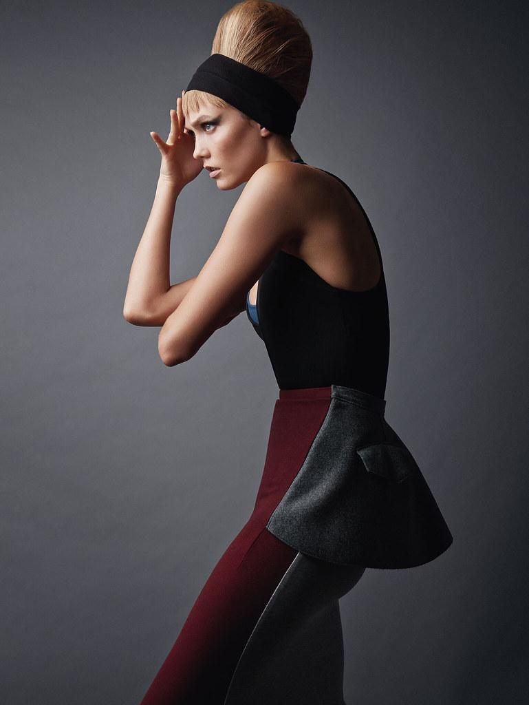 Карли Клосс — Фотосессия для «Vogue» UK 2015 – 7