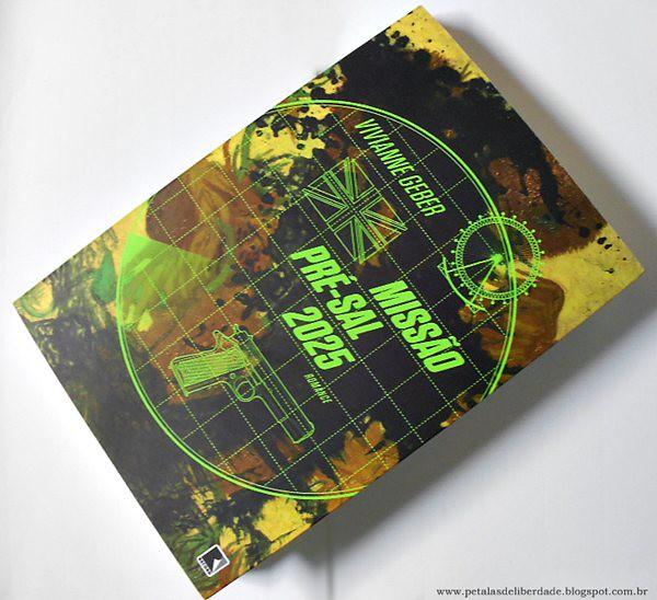 Resenha, livro, Missão Pré-Sal 2025, Vivianne Geber, capa, opinião