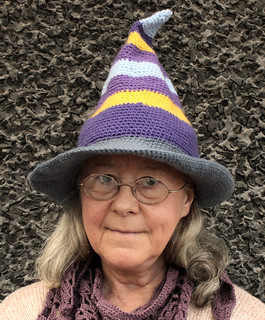 Selfie with witch hat