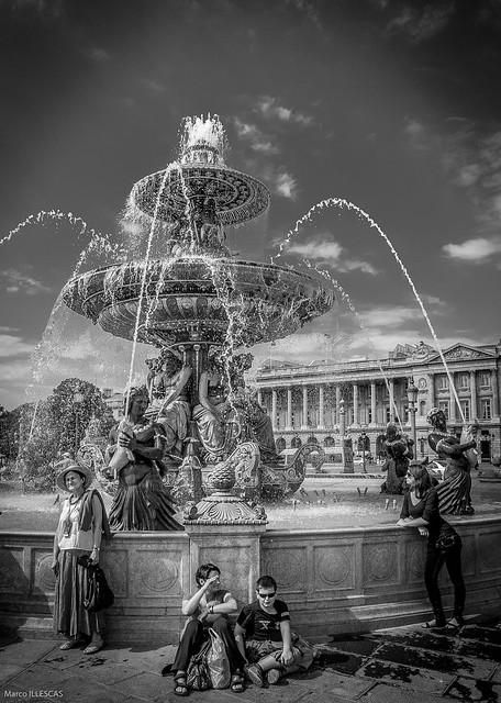 Fountain des Fleuves