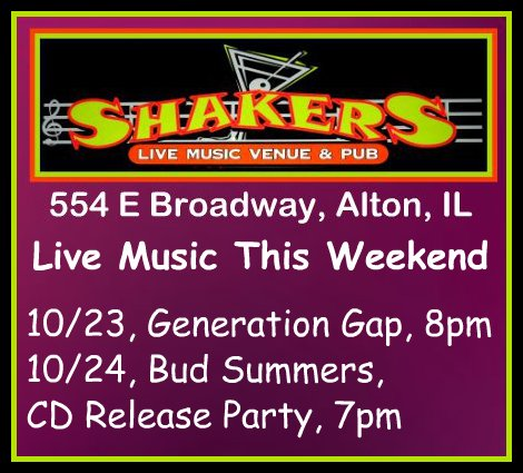 Shakers 10-23, 10-24-15
