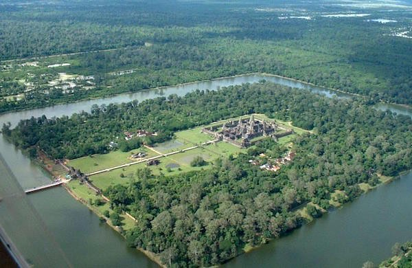 5 AMAZING SECRETS OF THE ANGKOR WAT BLUE OSA YOGA JOURNEYS CAMBODIA AERIAL VIEW