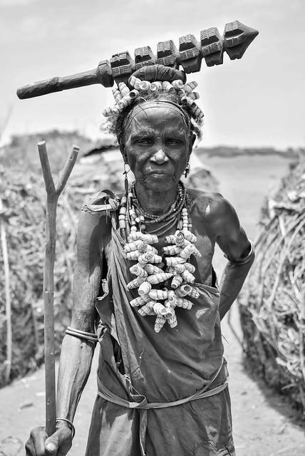 Older Woman, Dassanech Tribe, Ethiopia