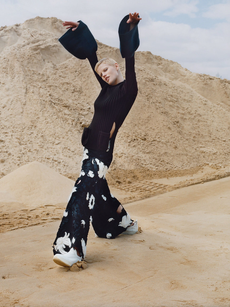 Саския де Брау — Фотосессия для «Vogue» UK 2015 – 3