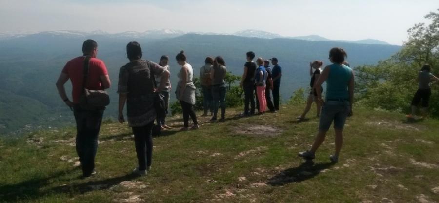 Журналистам продемонстрировали ход строительства курорта Лагонаки